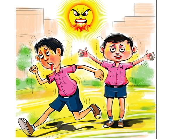 According to the India Meteorological Department (IMD), June was hottest in the region since 2016.(Biswajit Debnath)