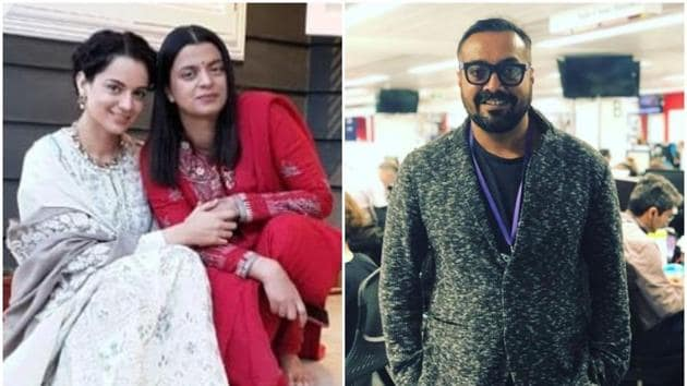 Rangoli Chandel and Anurag Kashyap got into a fight over Taapsee Pannu and Kangana Ranaut on Twitter.(Instagram)