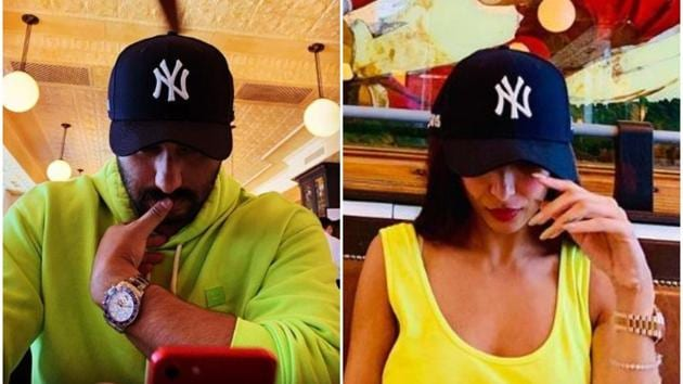 Malaika Arora and Arjun Kapoor are in New York on a holiday.(Instagram)