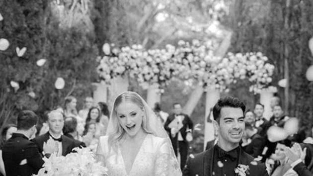 Sophie Turner and Joe Jonas' wedding pictures are out now.(Joe Jonas and Sophie Turner)