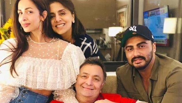 Arjun Kapoor and Malaika Arora are in New York City.