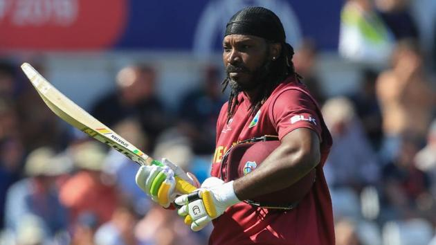 West Indies' Chris Gayle(AFP)