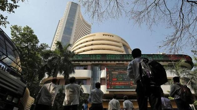 The broader Nifty was up 0.28% at 11,949.20, while the Sensex was up 0.26% at 39,948.66 as of 0934 IST.(REUTERS FILE)