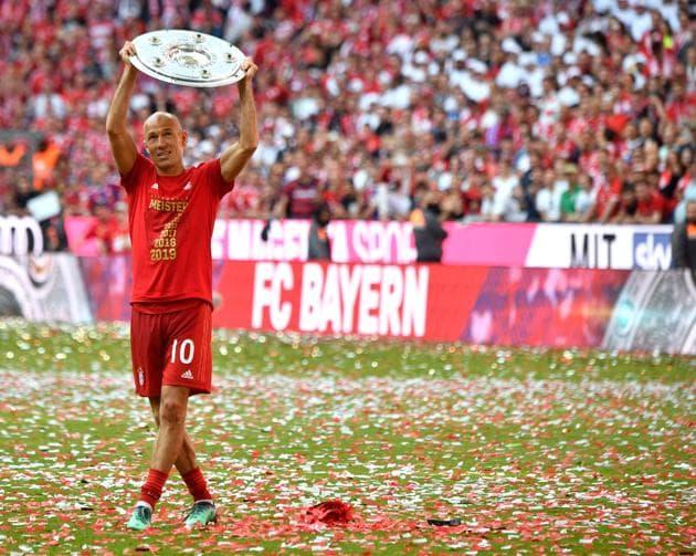 File photo of Arjen Robben.(AFP)