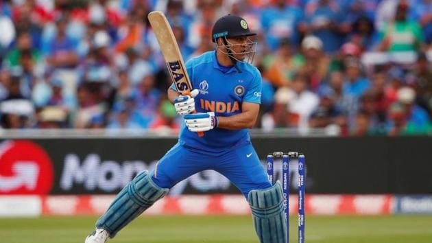 MS Dhoni has been using different bat sponsors in the World Cup(Action Images via Reuters)