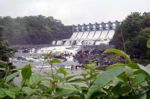 The water from Barvi dam is supplied to Thane, Kalyan-Dombivli, Ulhasnagar, Mira- Bhayander, Bhiwandi and Navi Mumbai.(HT FILE)