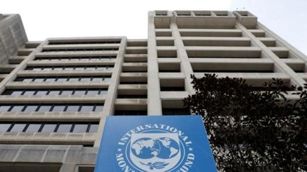 The International Monetary Fund (IMF) headquarters building.(Reuters Photo)