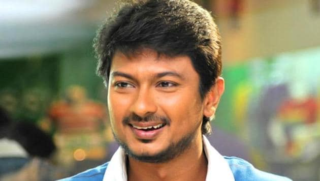 Udhayanidhi Stalin's prospects for elevation as the head of the party's youth wing had brightened after the DMK-led alliance's huge success in the Lok Sabah polls in Tamil Nadu where it won 37 of the 38 seats in the state.(HT PHPOTO)