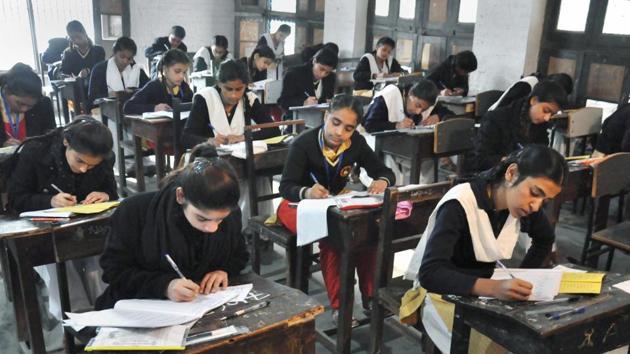UP Board exam(PTI)