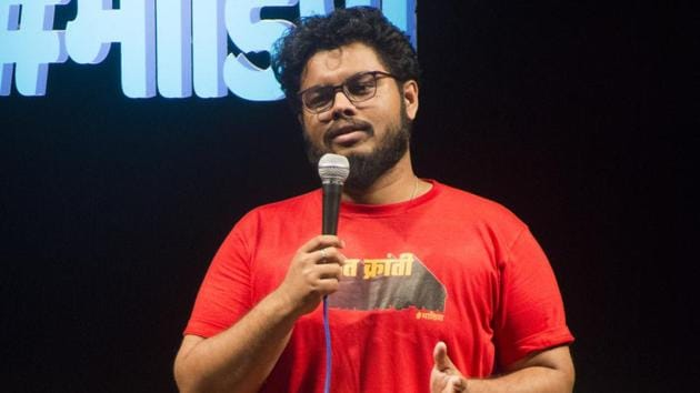 Omkar Rege will be performing his first one hour special at Hippie@Heart on July 13(HTPHOTO)