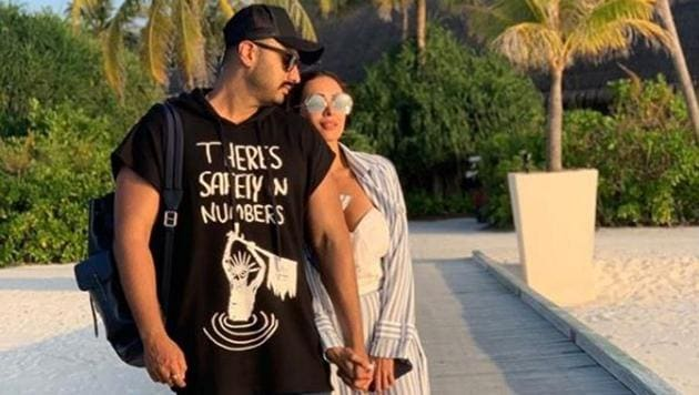 Arjun Kapoor and Malaika Arora are vacationing together in New York.(Instagram)