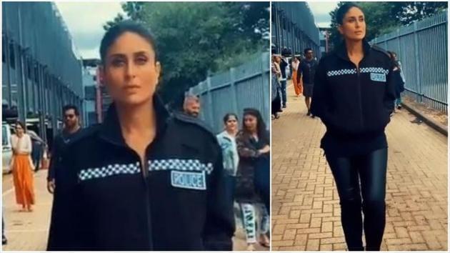 Kareena Kapoor in Angrezi Medium as a cop.