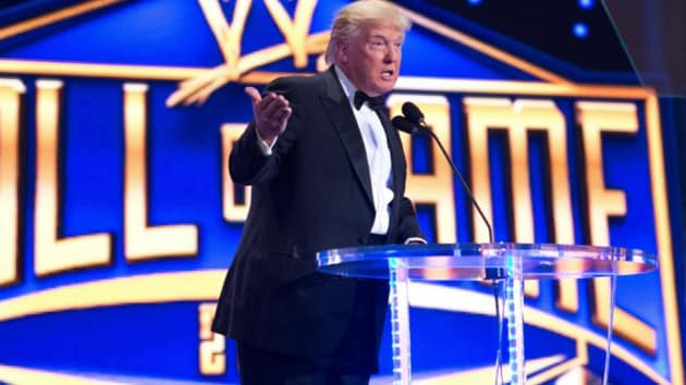 US President Donald Trump could make his comeback to the WWE.(WWE)