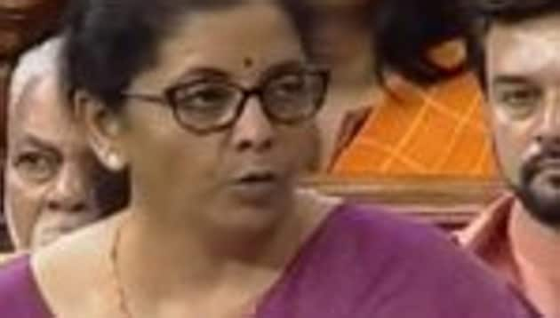 Union finance minister Nirmala Sitharaman's maiden Budget had an urdu couplet and a quote from Chanakya's Arthshastra.(BJP / Twitter)