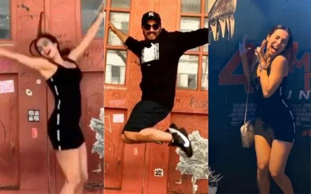 Malaika Arora and Arjun Kapoor celebrated 4th of July in New York.(Instagram)