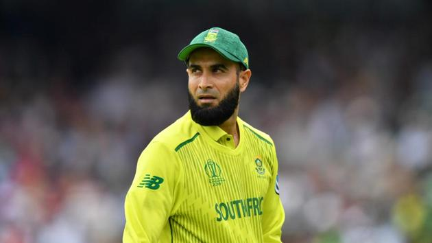 Imran Tahir will play his last 50-over international match against Australia on Saturday at the World Cup.(AFP)