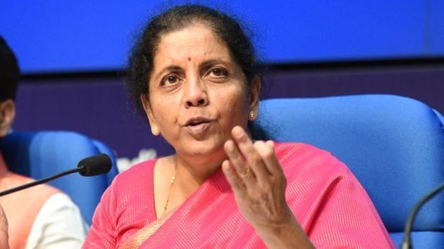 Minister of Finance Nirmala Sitharaman(Arvind Yadav/HT FILE PHOTO)