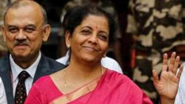 India's Finance Minister Nirmala Sitharaman(REUTERS)