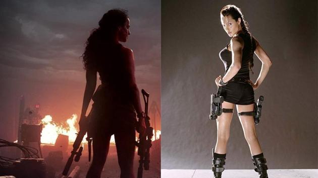 Kangana Ranaut in Dhaakad and Angelina Jolie in Lara Croft: Tomb Raider.