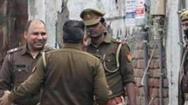 The UP Police in Hathras have launched a manhunt for three men accused of brutalising a dog.(AFP FILE PHOTO)