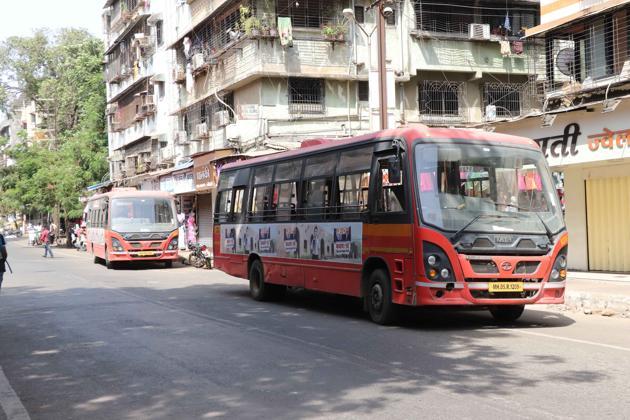 KDMT buses parked at Nehru Road.(Representational photo/HT FILE)