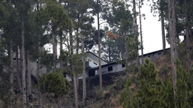 A general view of a building, which according to residents was a madrasa (religious school) is seen near the site where Indian military aircrafts struck on February 26, according to Pakistani officials, in Jaba village, near Balakot, Pakistan, March 7, 2019.(REUTERS FILE)