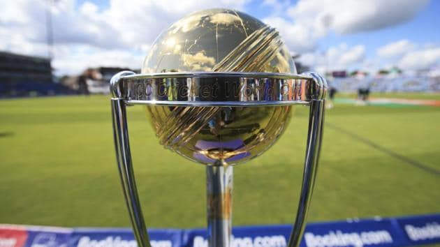 A file photo of the ICC World Cup 2019 trophy.(AP)