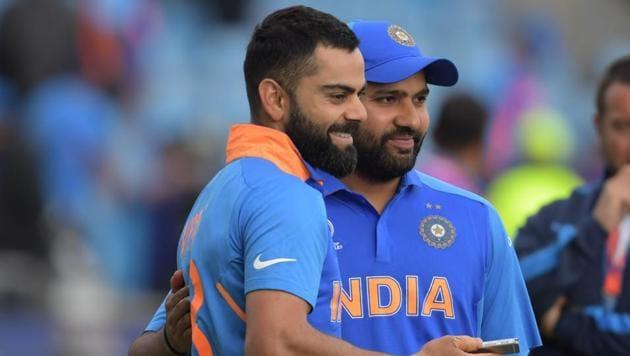 India vs Sri Lanka, ICC World Cup: Rohit Sharma and Virat Kohli(AFP)