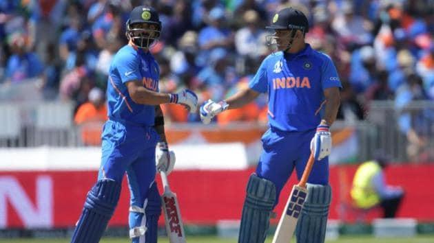 IMS Dhoni birthday: Virat Kohli and MS Dhoni(AFP)