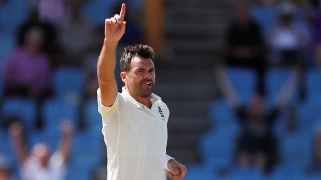 A file photo of England fast bowler James Anderson.(Action Images via Reuters)