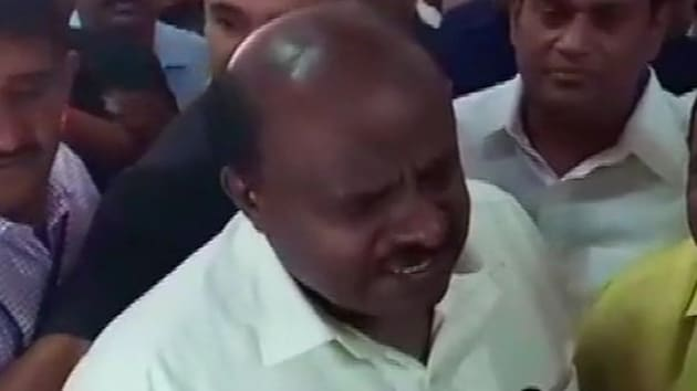Karnataka government crisis: Congress and JDS ministers in the Kumaraswamy government has sent their resignations to help coalition government survive the latest crisis. (ANI photo)