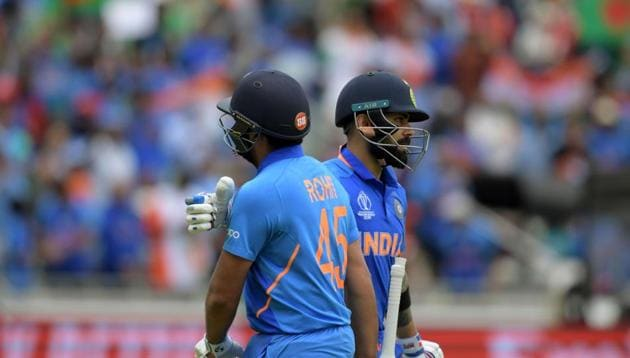 India vs New Zealand, semi-finals: Virat Kohli, Rohit Sharma(AFP)
