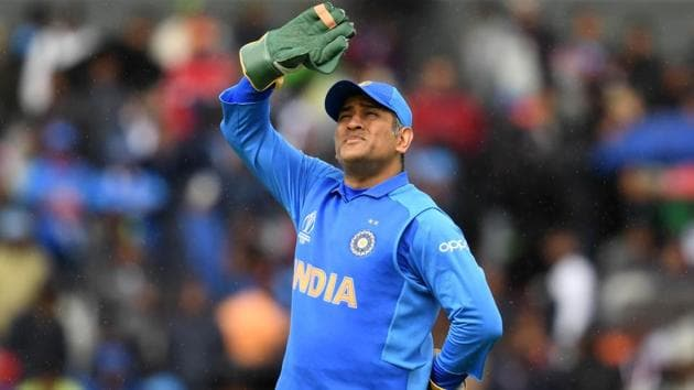 India vs New Zealand: File image of MS Dhoni(AFP)