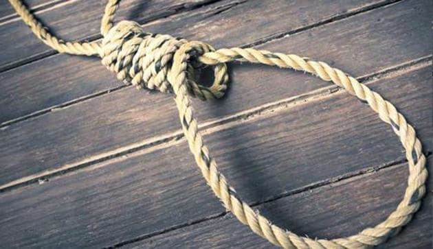 A 23-year-old woman from west Delhi was found hanging from the ceiling fan of a hotel in central Delhi's Paharganj on Sunday evening. (Representative photo)(HT Photo)