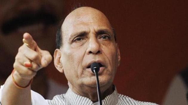 Defence Minister Rajnath Singh on Monday said in the Lok Sabha that his party has nothing to do with the political crisis plaguing the Congress-JD(S) coalition in Karnataka.(File Photo)