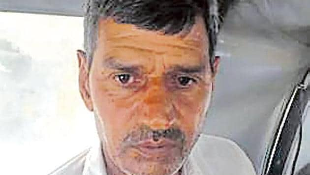 The accused, Lalman, 52, is a farmer who also works as a driver, cops said.(HT Photo/ Sourced)