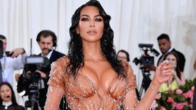 Kim Kardashian West's iconic 'Wet Look' at the Met Gala 2019.(Kim Kardashian West/Instagram)