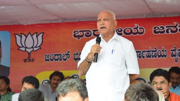 Yeddyurappa said his party BJP had no role to play in the political crisis that has engulfed the JD(S)-Congress coalition in the state. (Photo @BSYBJP)