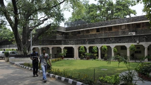 The Ambedkar University at Kashmiri Gate(Hindustan Times)