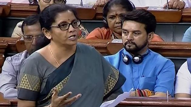 The National Democratic Alliance (NDA) government will seek fiscal consolidation without compromising on public spending, finance minister Nirmala Sitharaman said on Wednesday.(PTI)