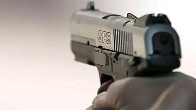 Two alleged Maoists were gunned down in an encounter with police in Madhya Pradesh's Balaghat district on Tuesday night,(AFP)