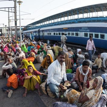 According to the Indian government's own data, surprisingly few rural Indians are relocating to cities. Between 2001 and 2011, net rural-urban migration stood at about 20 million people. In China, the only country in the world of comparable size, migration alone swelled the urban population by 177 million in the first decade of the century. In fact, the rate of migration into cities in India has remained essentially stagnant since the 1970s — even after liberalisation unleashed a wave of economic growth.(Getty Images)