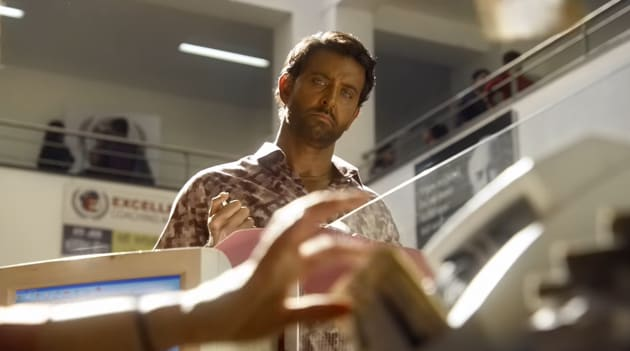 Super 30 movie review: Hrithik Roshan's problematic brown face-paint is inconsistent to the point of distraction.