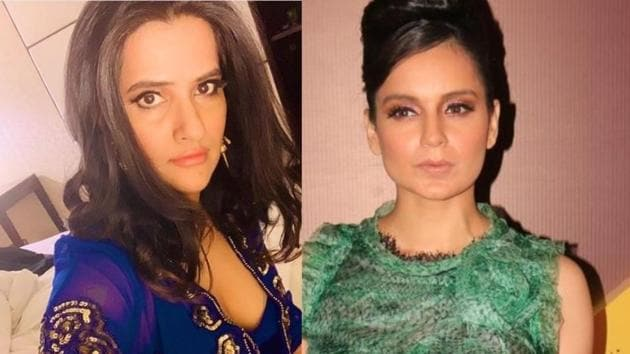 Sona Mohapatra slammed Kangana Ranaut for her recent controversy and said 'hope you recover'(Instagram/IANS)