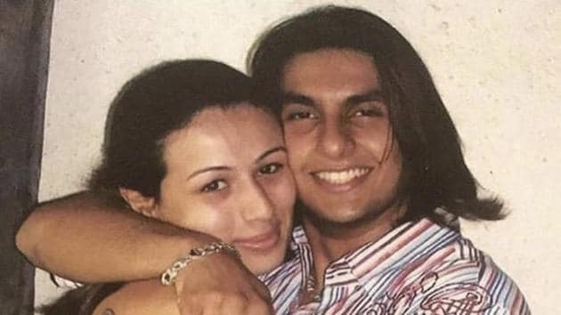 A throwback picture of actor Ranveer Singh is going viral on the internet.(Instagram)