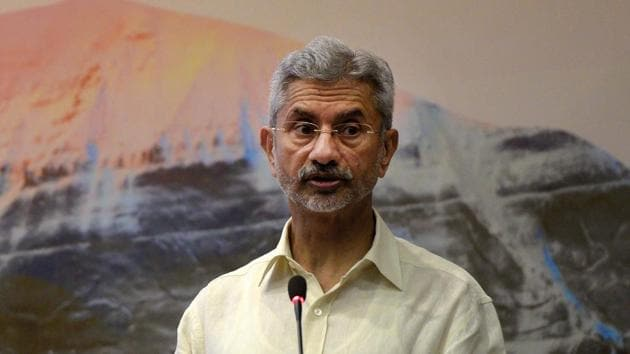 External affairs minister S Jaishankar has called for fast-tracking the process of re-admitting Maldives into the Commonwealth, which the Indian Ocean country left in 2016 at the height of political turmoil in Male.(Mohd Zakir/HT PHOTO)