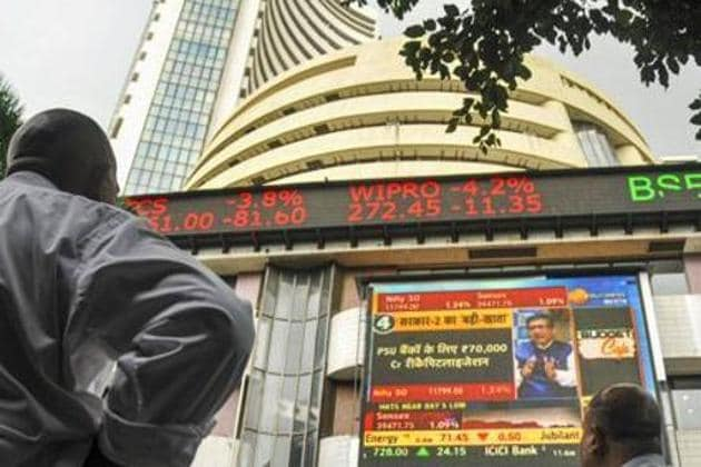 Domestic equity benchmark BSE Sensex surged over 250 points in opening trade on Monday.(PTI Photo)