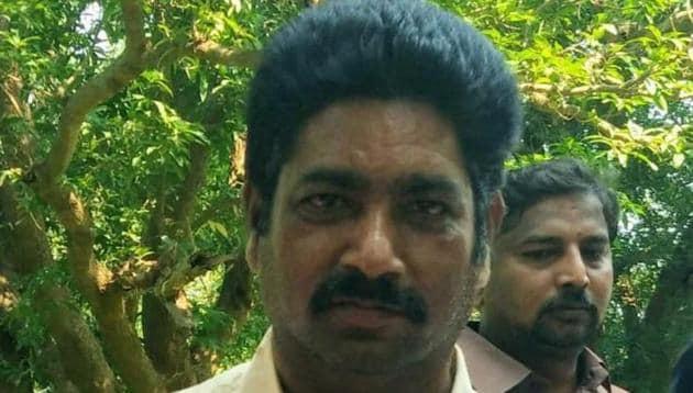 Nalluri Srinivasa Rao was a Mandal Parishad Territorial Constituency (MPTC) member representing the Peda Midisileru village.(HT PHOTO.)