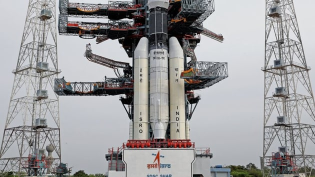 Indian Space Research Organisation (ISRO) will launch the country's ambitious moon mission Chandrayaan-2 on Monday in what the agency has said will be its most challenging venture.(Twitter/ISRO)