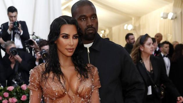 Metropolitan Museum of Art Costume Institute Gala - Met Gala-Camp: Notes on Fashion - Arrivals- New York City, U.S. - May 6, 2019 - Kanye West and Kim Kardashian West. REUTERS/Mario Anzuoni(REUTERS)